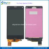 OEMの小型ソニーXperia Z3のための元の新しい携帯電話LCDの表示