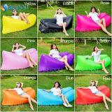 耐久の豆袋のLoungerのソファーの膨脹可能なバナナの空気寝袋