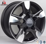 bordes de aluminio de la rueda de la reproducción de 16X8 17X8 Toyota