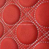 Cuoio di Microfiber della spugna di alta qualità per le sedi di automobile Hw-M1707