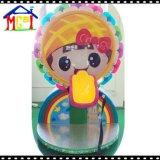 単一の回転椅子の子供の乗車を飛ばす虹