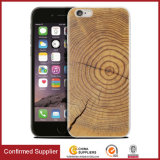 Wood Grain 3D Printing Case para celular para iPhone