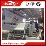 Não-Ondular o papel de transferência seco rápido do Sublimation do rolo 70GSM 44inch enorme com impressora de alta velocidade