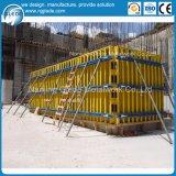 Encofrado de acero de la pared del material de construcción de las paredes de /Storey-Level del sótano