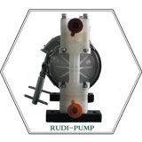 Bomba de diafragma del aire de la capa PVDF