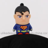 USB Flash Drive Super Man PVC (UL-PVC012)