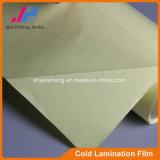 Pellicola fredda della laminazione con protezione gialla