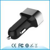 Port заряжатель автомобиля заряжателя 6.8A автомобиля 3USB с алюминиевым кольцом