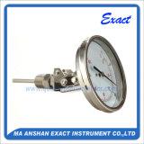 De industriële thermometer-Bimetaal thermometer-Roestvrije Maat van de Temperatuur van het Staal