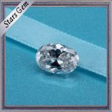 China Proveedor Oval Corte Syntheitc Moissanite Diamante