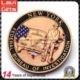 特別な側面が付いている高品質OEMの記念品の硬貨