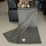 Iaques de enchimento cheios e cobertor luxuoso misturado lãs