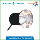 Luz Recessed diodo emissor de luz da parede de IP68 3W