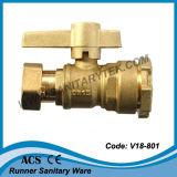 Латунный шариковый клапан для счетчика воды (V18-814)