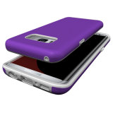 Samsung S8를 위한 공상 도금 단추 이동 전화 상자