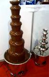 Venta caliente Grt-D20098 máquina comercial de la fuente del chocolate de 7 capas para la venta