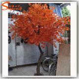 Árbol de arce falso artificial de la fibra de vidrio caliente de la venta para la decoración del otoño