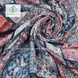 Volksart-Blumenpuzzlespiel gedruckter Schal mit Troddel-Form-Schal