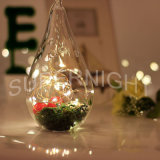 Flower Shape String Curtain Light Waterproof LED Decoração de Natal Light