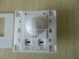 正方形のタイプ壁によって隠される台紙のマイクロウェーブ動きセンサースイッチ
