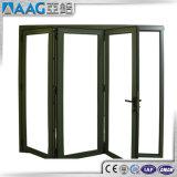 Puerta Bi-Fold de aluminio