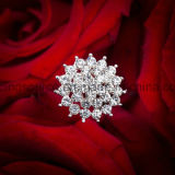 Speld van de Juwelen van de Bloem van het Boeket van het bergkristal de Bruids