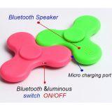 Fabrik drahtloser Bluetooth Lautsprecher-Unruhe-Spinner mit LED-Licht