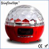 Buntes magisches Kristallkugel-Stadium beleuchtet greller Glanz Bluetooth Lautsprecher (XH-PS-682)