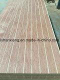 madera contrachapada de la ranura de 3-18m m para los muebles/la decoración