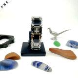 Zircon-Mode-Edelstahl-Punkbewegungsradfahrer-Kettenarmband