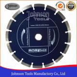 blad van de Zaag van 230mm het Laser Gelaste voor het Knipsel van het Graniet