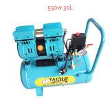 компрессор воздуха автошины 600W 30L молчком миниый портативный