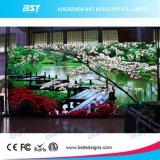 Pequeña pantalla de visualización de interior de LED del pixel P2.5