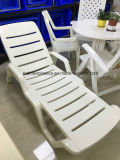 Hot Sell Factory Diret Sale Durable Plastic Beach Resort Chaise