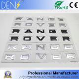 Emblema de range rover de la insignia del coche del cromo del ABS