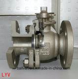 L'ANSI ha flangiato valvola a sfera di galleggiamento dell'acciaio inossidabile