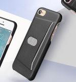 Het gegleden Geval van de Telefoon van de Cel van de Houder van de Kaart Mobiele voor iPhone 7 van de Appel
