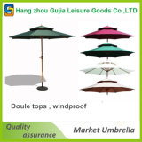 9FT 튼튼한 유럽 옥외 경제 둥근 시장 우산