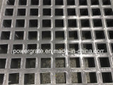 Grille moulée par fibre de verre discordante lourde de Powergrate FRP