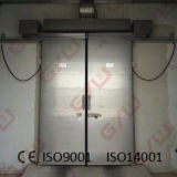 Porte coulissante pour la chambre froide/congélateur à air forcé/entreposage au froid
