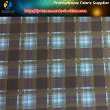 Tessuto della gabardine della saia del poliestere con stampa di scambio di calore per Shirting