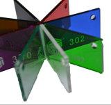 Effacer le panneau coloré de la picoseconde Sheet/PS Plate/PS/panneau diffus/panneau léger