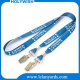 Amazing All Kinds Lanyard with Double Hook Alligator Clip