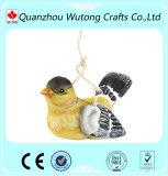 Alimentador colgante del pájaro de la resina del nuevo del pájaro del diseño jardín barato de la alta calidad