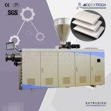 800mm linha de produção máquina do perfil do teto do PVC de três cavidades da extrusão