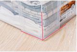 Boîte de rangement en plastique 20L transparente de qualité supérieure Boîte de rangement pour ménage