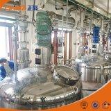 Elektrische Verwarmde Chemische Mixers/Roestvrij staal die Tank mengen met Mengapparaat