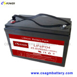 Batterie lithium-ion profonde Bt-B2450e-6-a du cycle 24V 50ah de Cspower