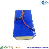 Paquete 60V 60ah de la batería LiFePO4 para el E-Motor