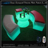 Mobilia illuminata presidenza ricaricabile moderna del cubo LED di RGB